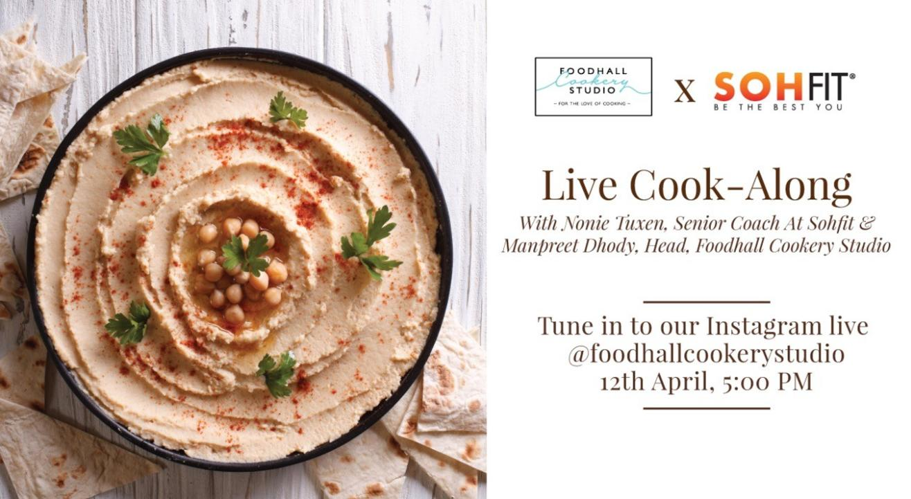 Foodhall Cookery Studio X SOHFIT: Live Cook-along with Manpreet Dhody & Nonie Tuxen