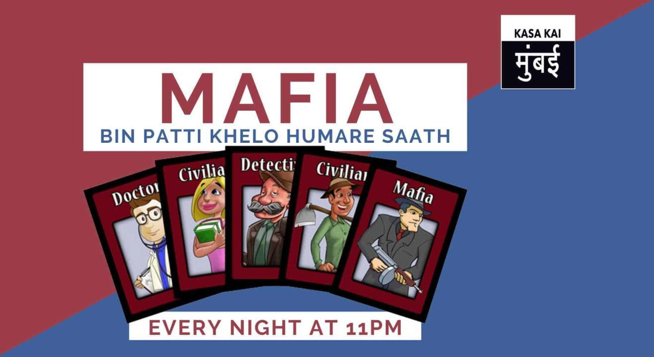 Mafia:Bin Patti Khelo Hamare Saath At Online WhatsApp Group
