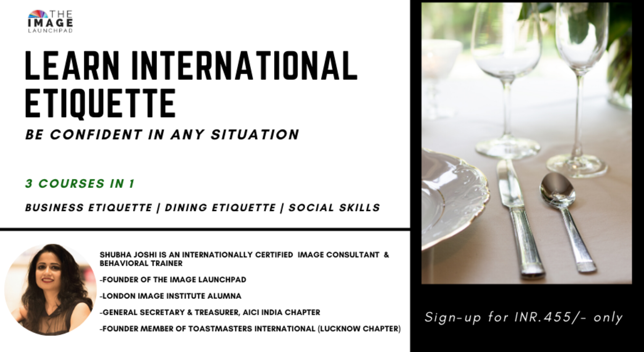 LEARN INTERNATIONAL ETIQUETTE