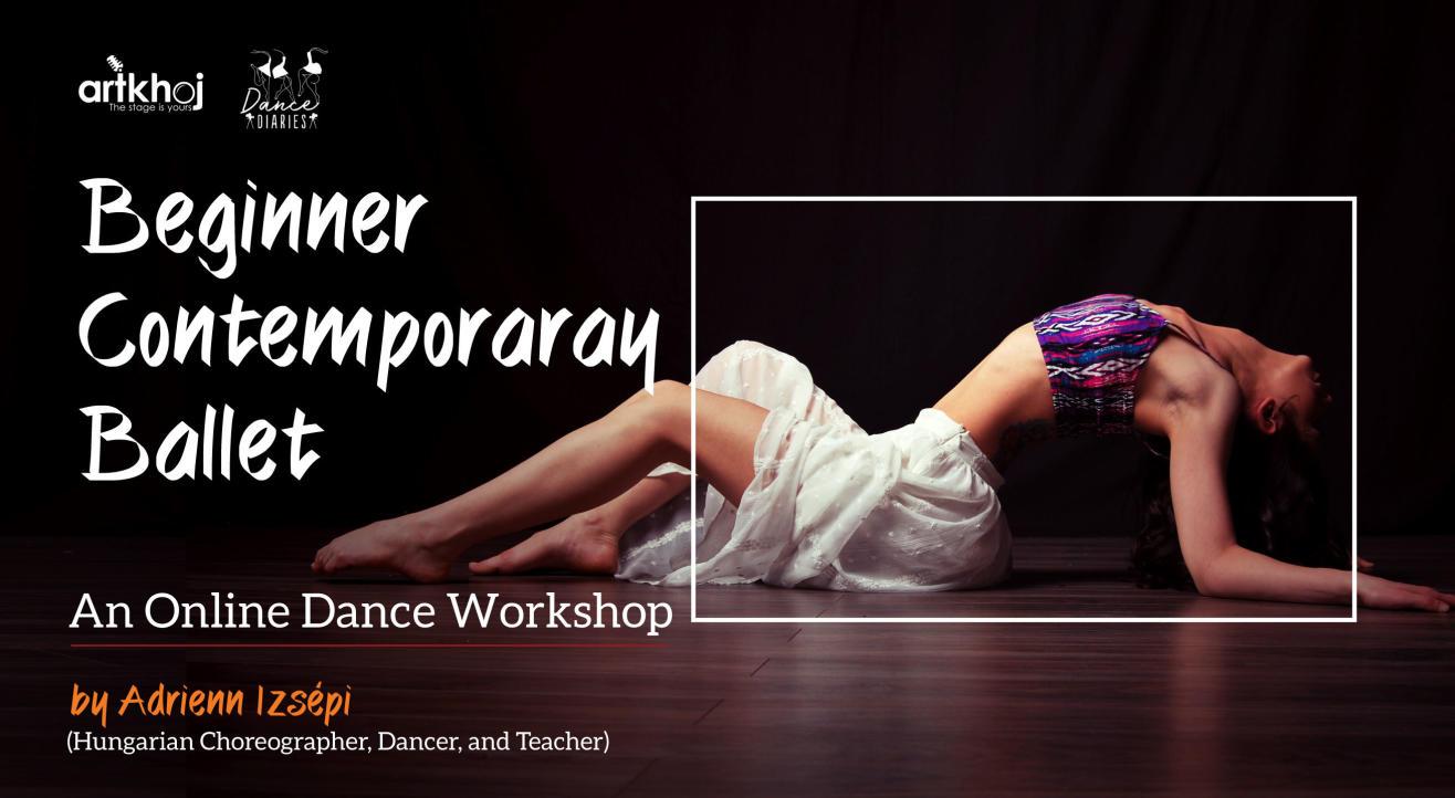 Beginner Contemporary Ballet Online Dance Workshop