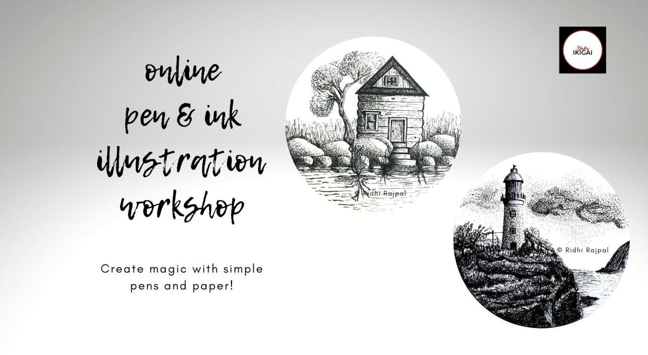 Pen & Ink Illustration Art Workshop