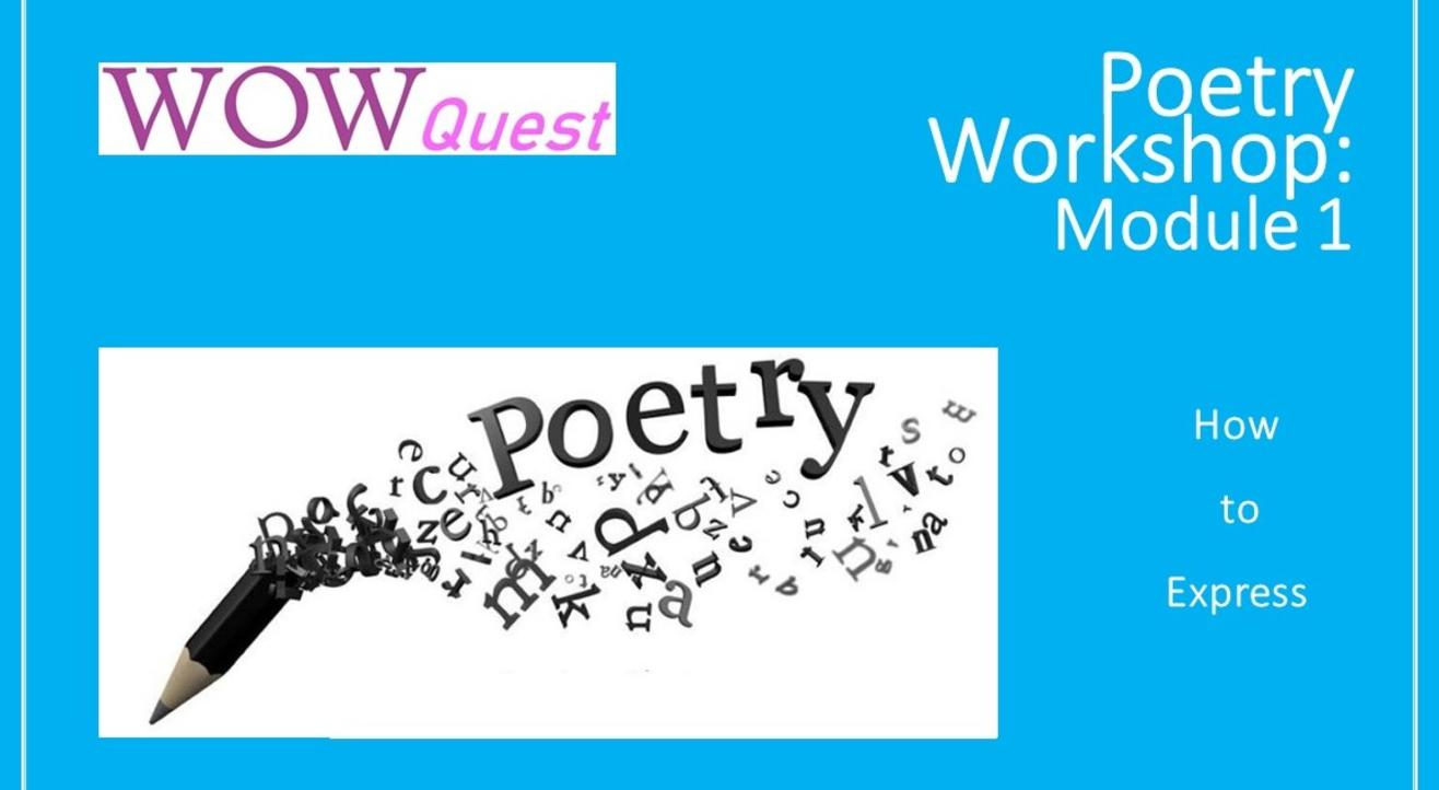 Poetry Workshop: How to Express