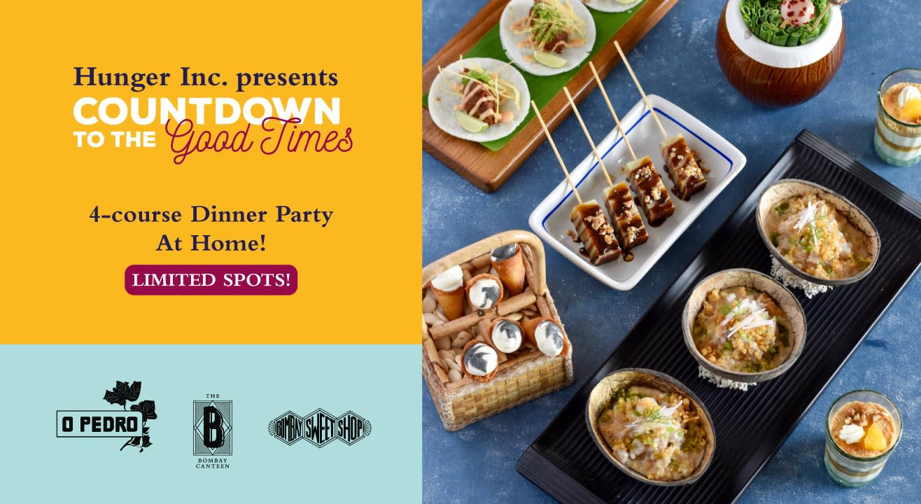 4-course Dinner Party At Home - Limited Slots