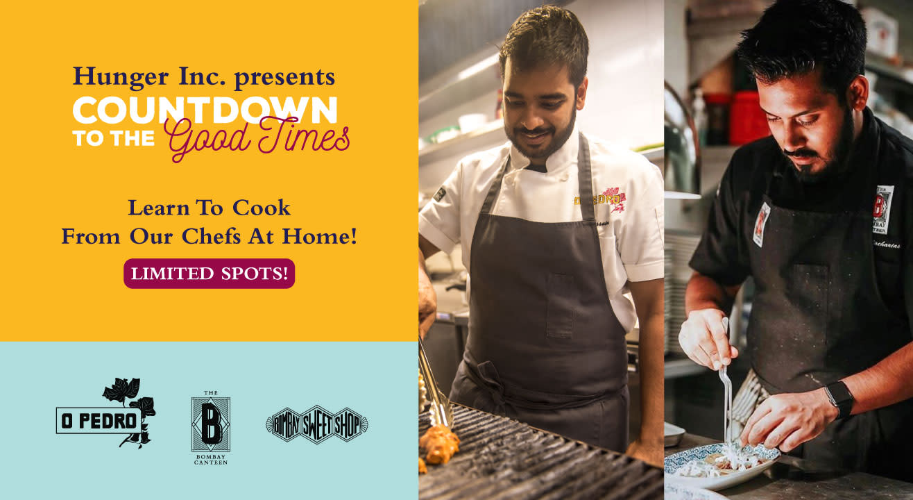 Learn To Cook From Home With Our Chefs!