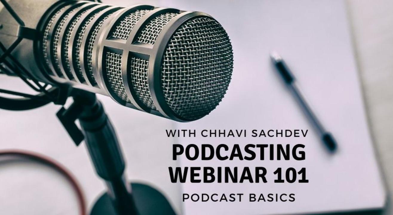 Podcasting Basics By Chhavi Sachdev   Online with Doolally