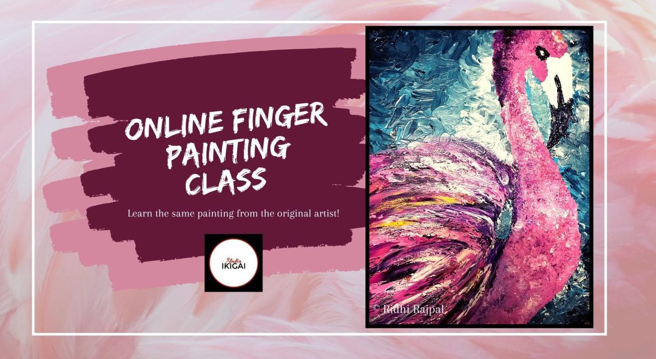 Online Finger Painting Workshop