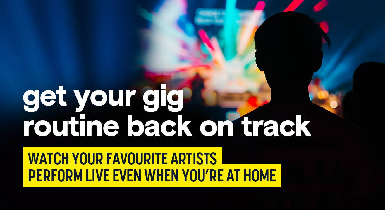 Listen to your favourite musicians live with digital music events
