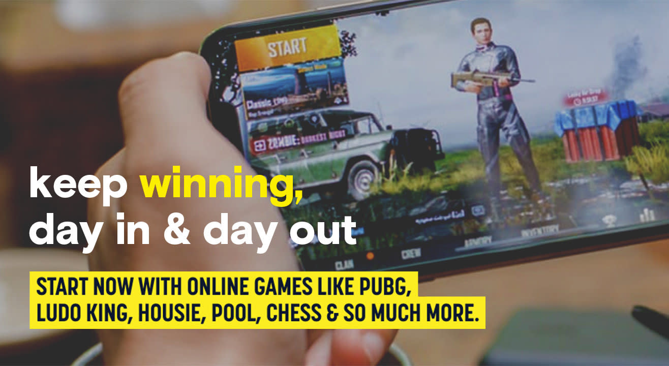 Get on a winning streak with online gaming events
