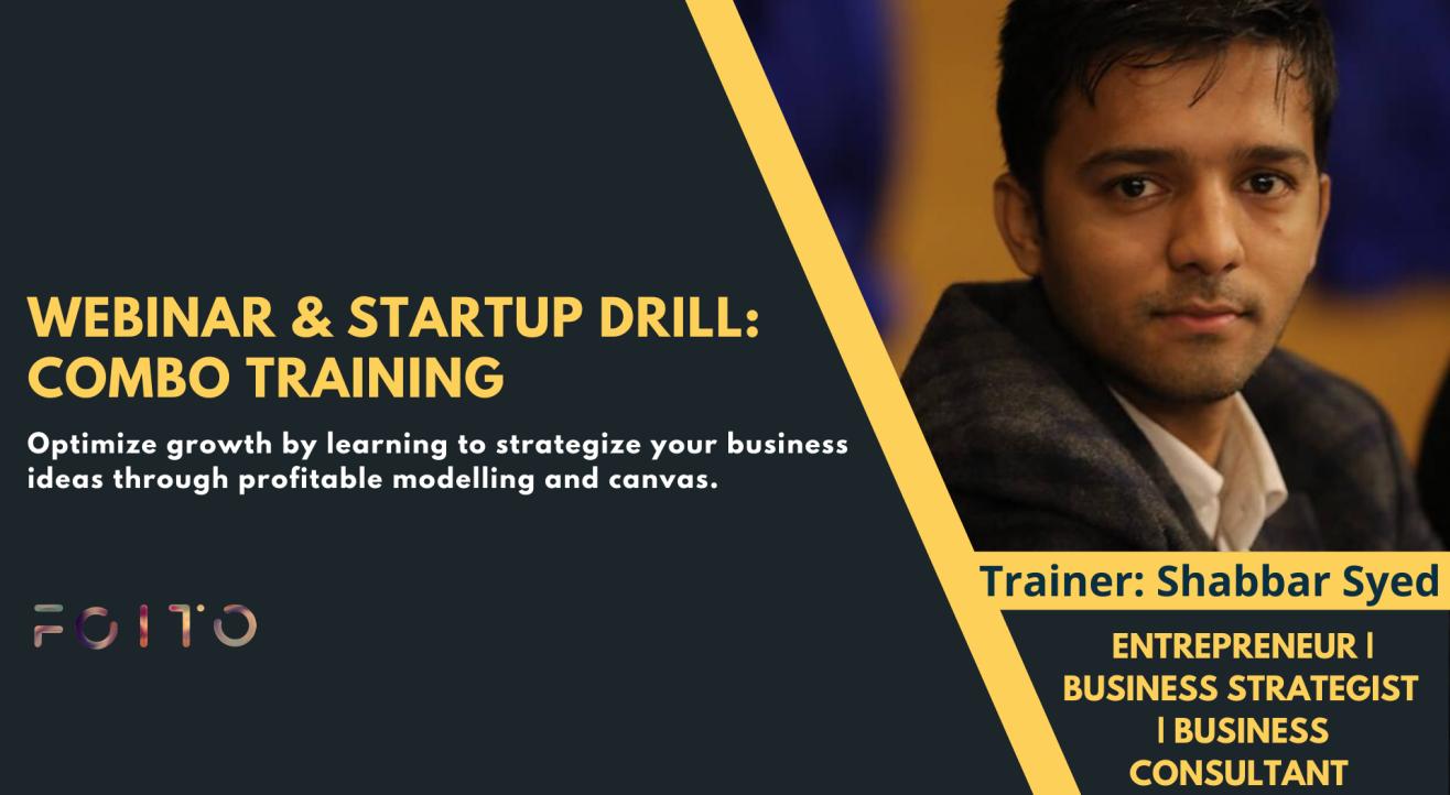 Webinar & Startup Drill: Combo Training Pack