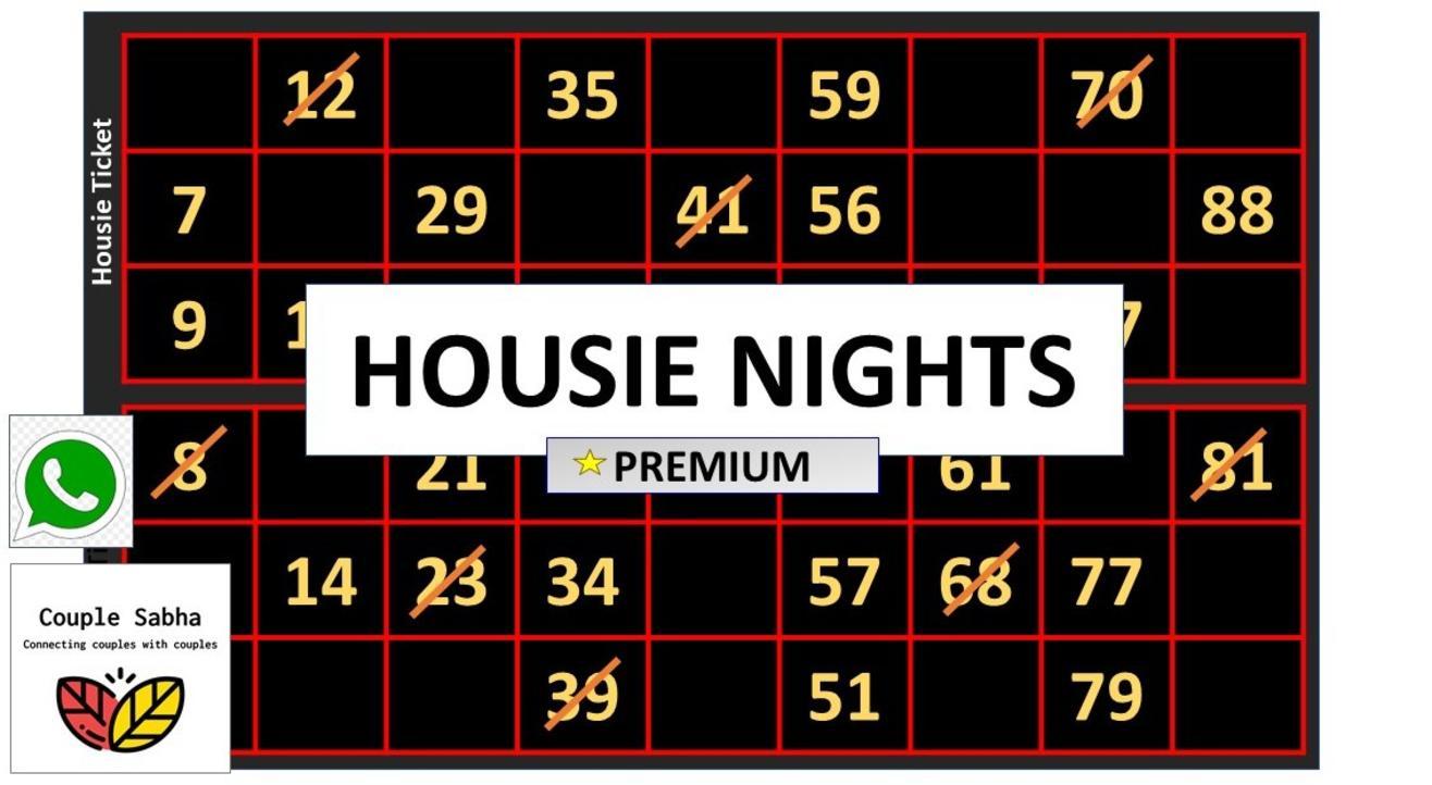 Premium Housie Nights, Powered by Couple Sabha