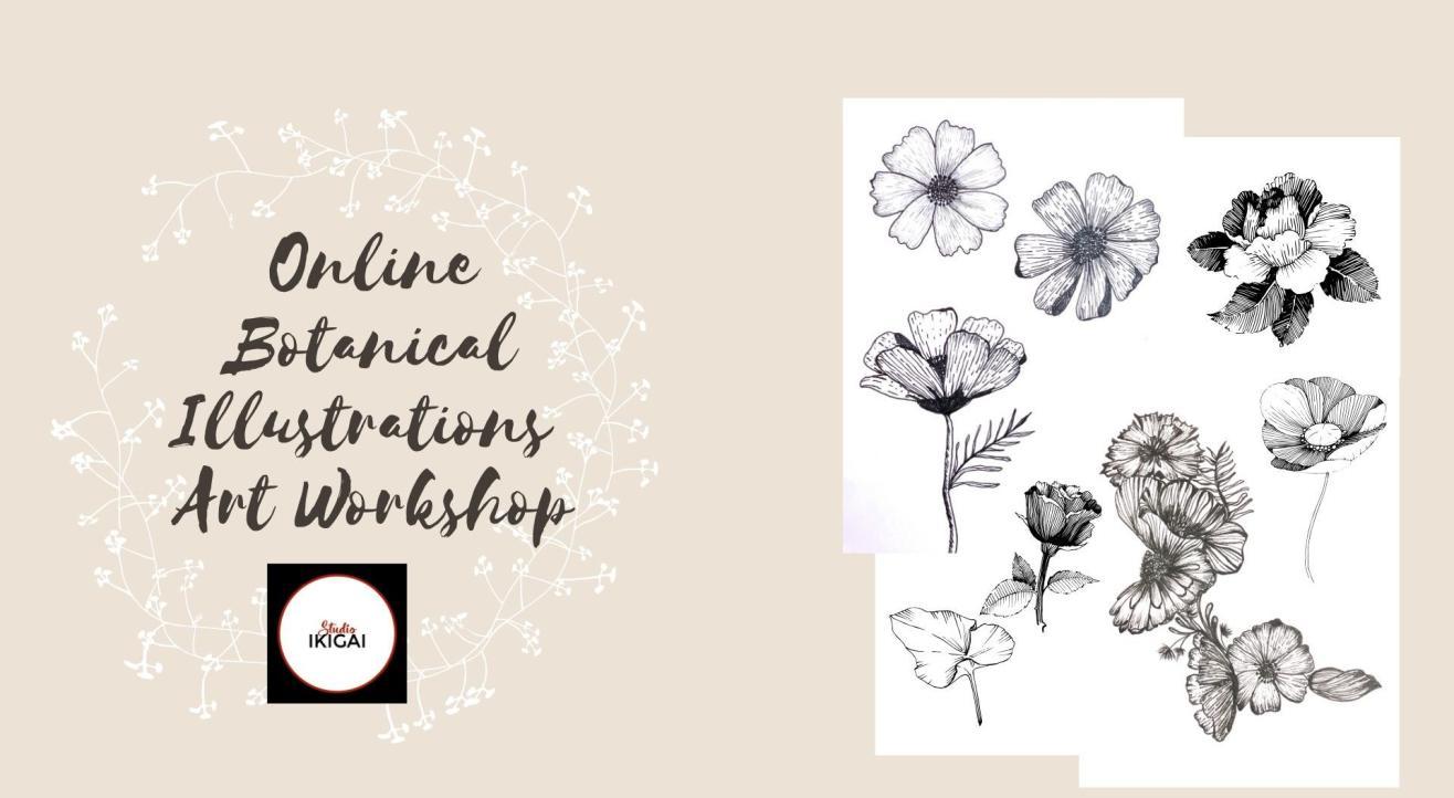 Botanical Illustrations Art Workshop