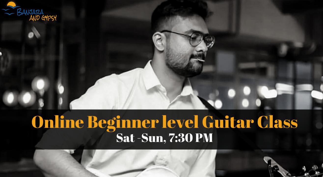 Online Beginner Level Guitar Class| Banjara Gypsy Star