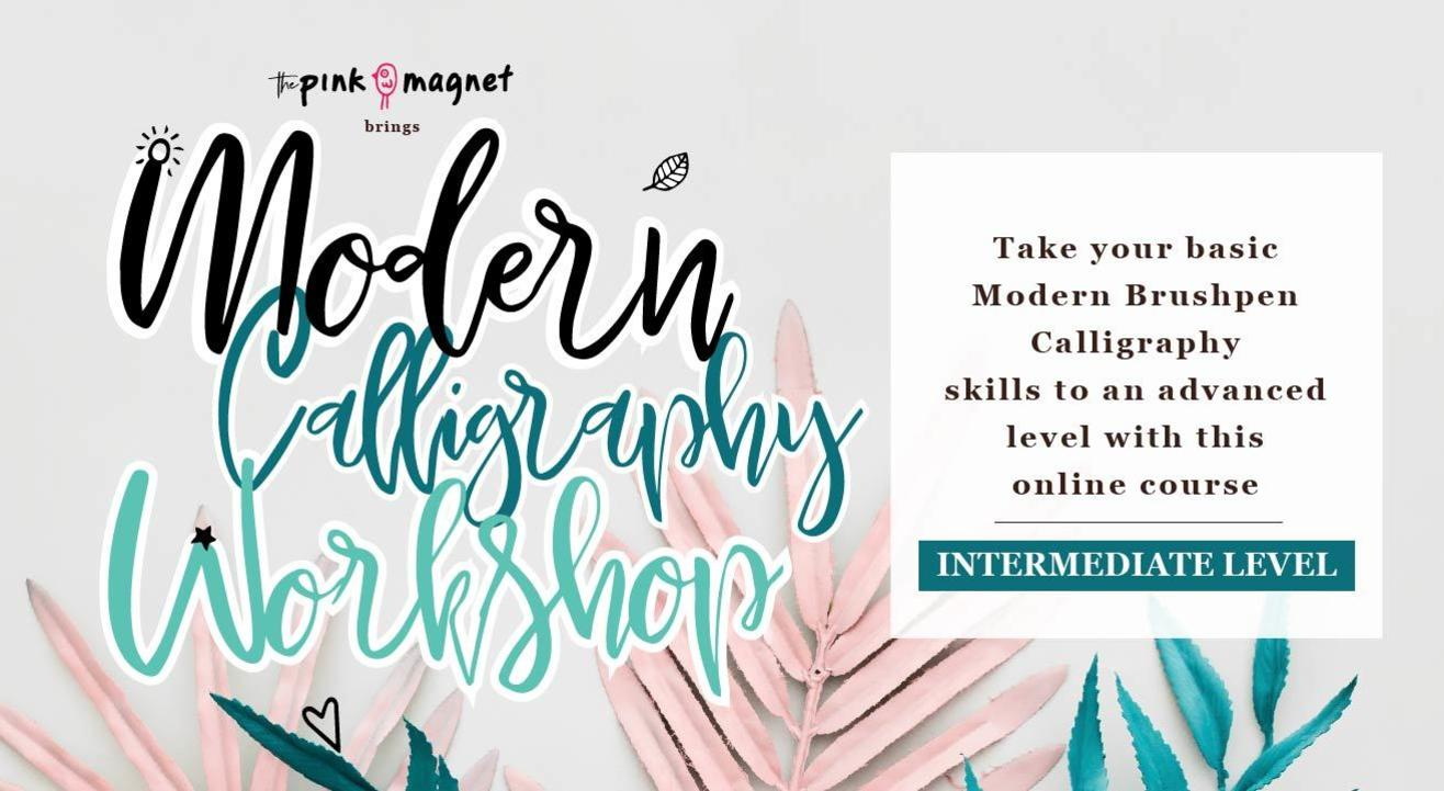 Intermediate Calligraphy Online Course