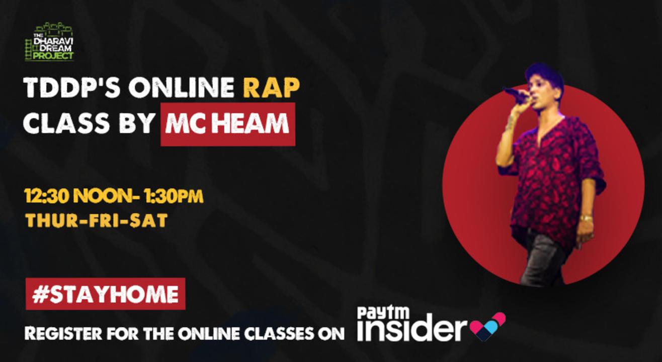 #AfterSchoolofHipHop's Online Rap workshop with MC Heam