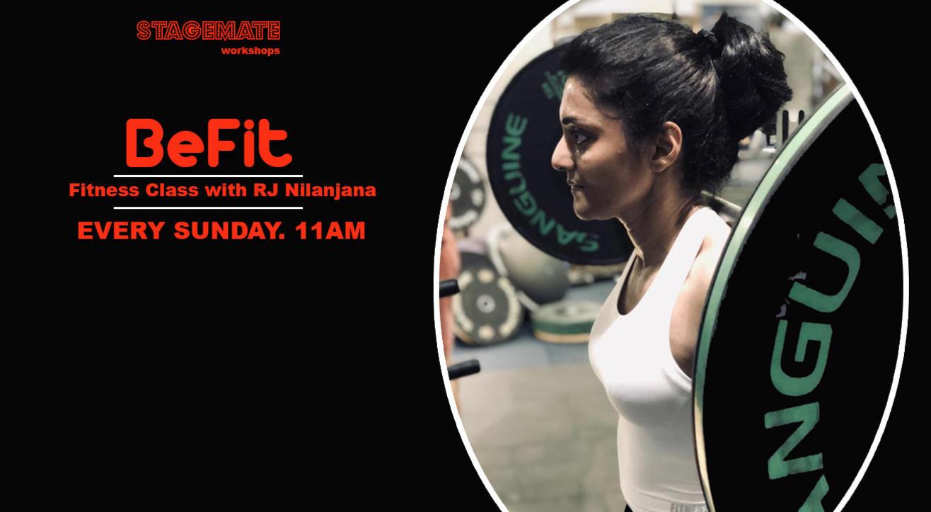 BeFit Fitness Series with RJ Nilanjana