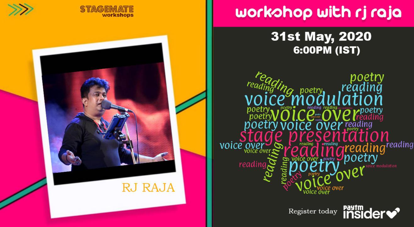 Workshop with RJ Raja