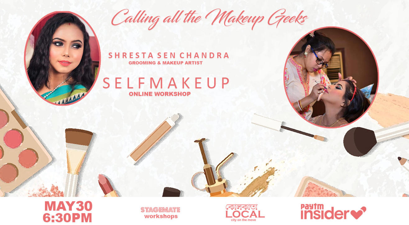 Stagemate LIVE: Self Makeup Workshop with Shresta