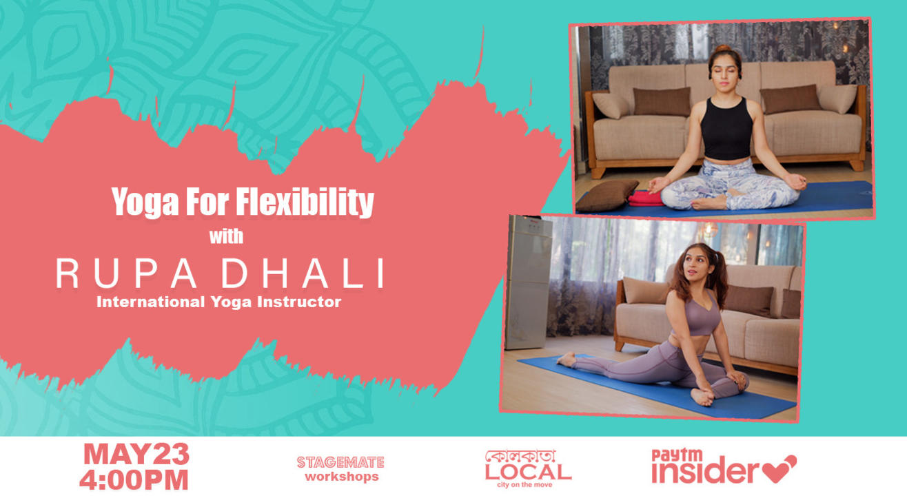Stagemate LIVE: Yoga Session with Rupa Dhali