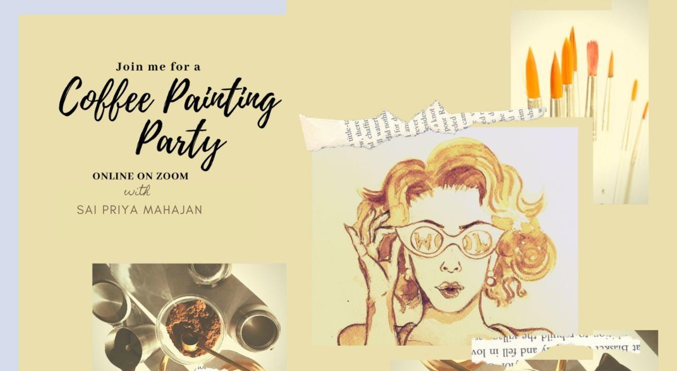 Coffee Painting Party