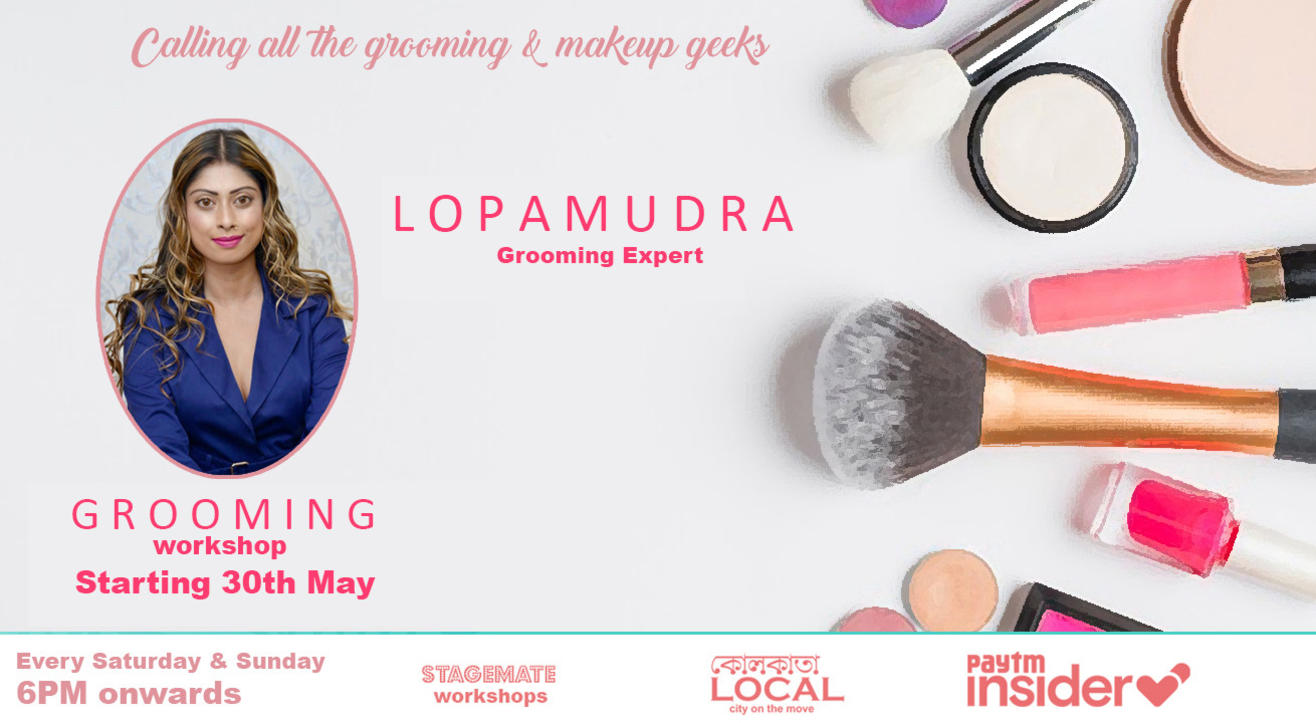 Stagemate LIVE: Grooming Workshop with Lopamudra