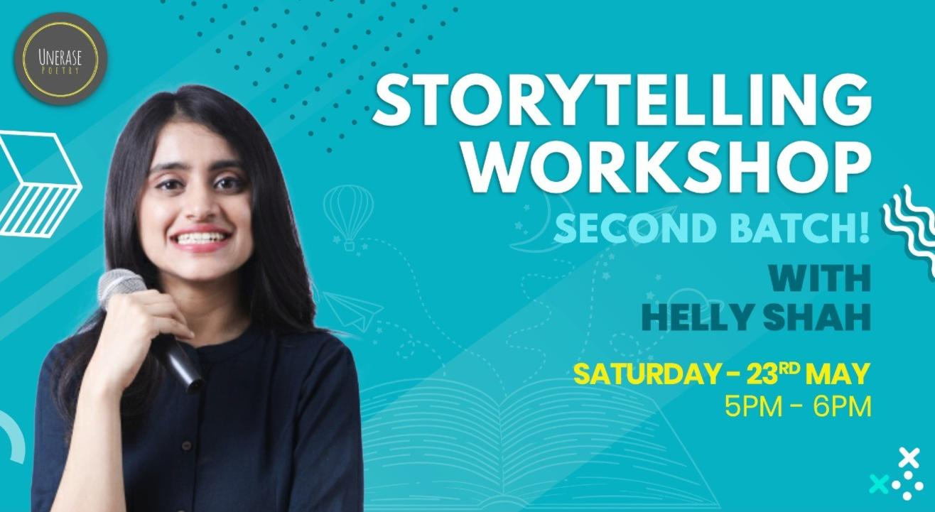 UnErase Storytelling Workshop with Helly Shah