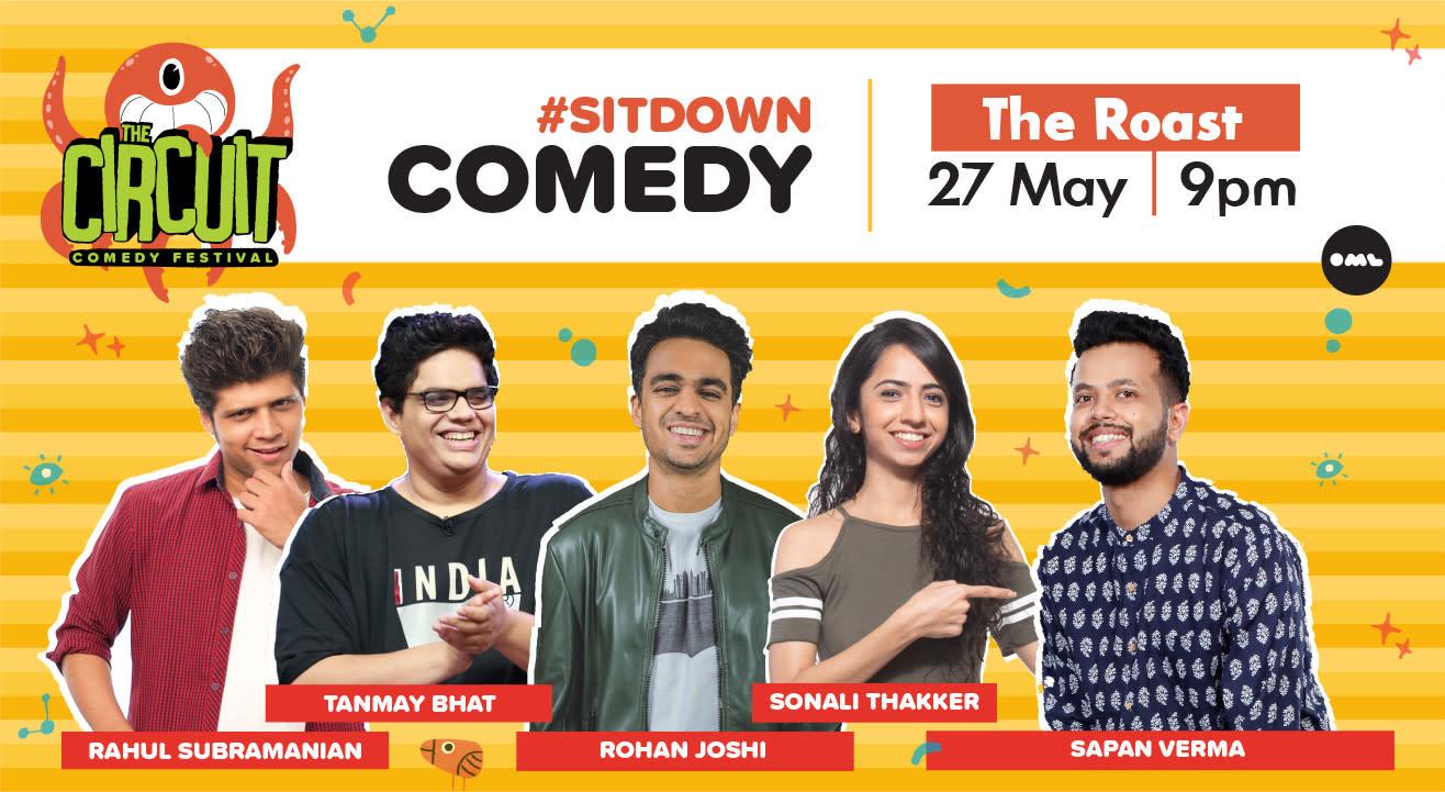 The Roast ft. Tanmay Bhat, Rohan Joshi, Rahul Subramanian, Sonali Thakker, Nishant Tanwar and Sapan Verma