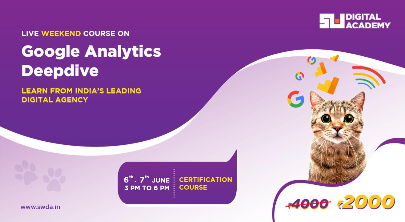 Google Analytics Deep-dive with Sociowash Digital Academy