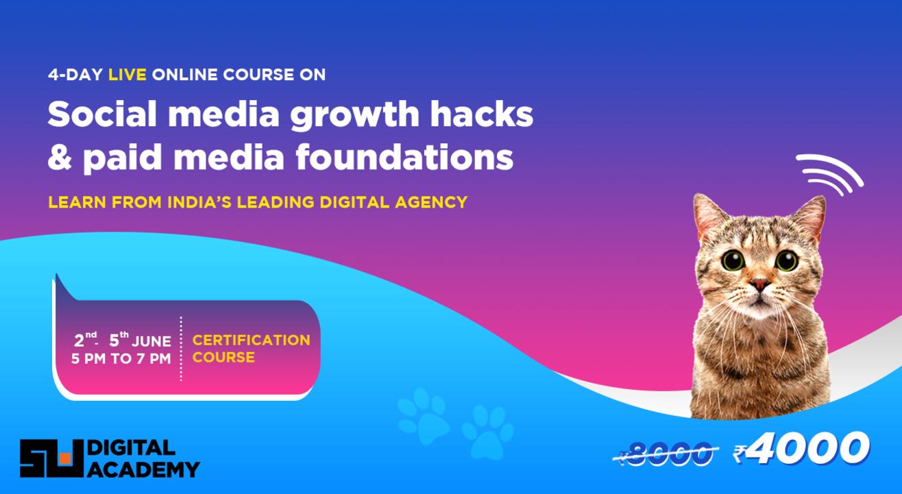 Social Media Growth Hacks & Paid Media Fundamentals with Sociowash Digital Academy