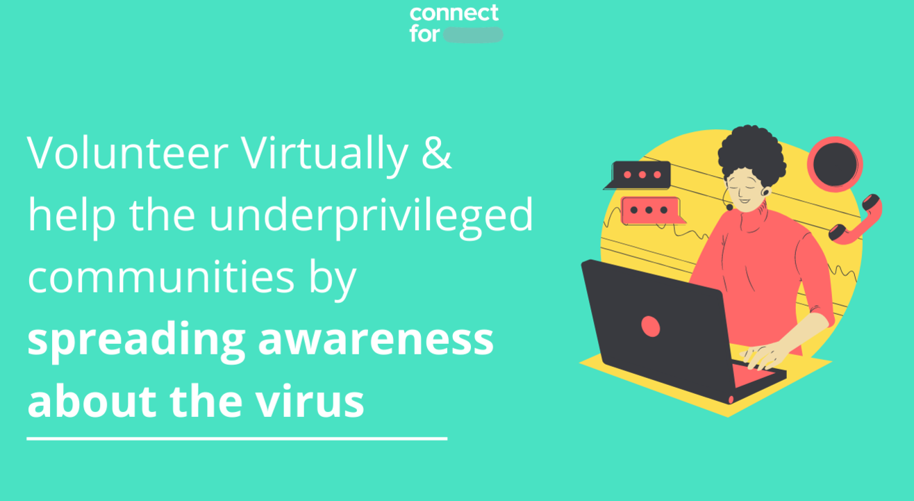 Volunteer to spread awareness & gather information on Covid-19 over the phone