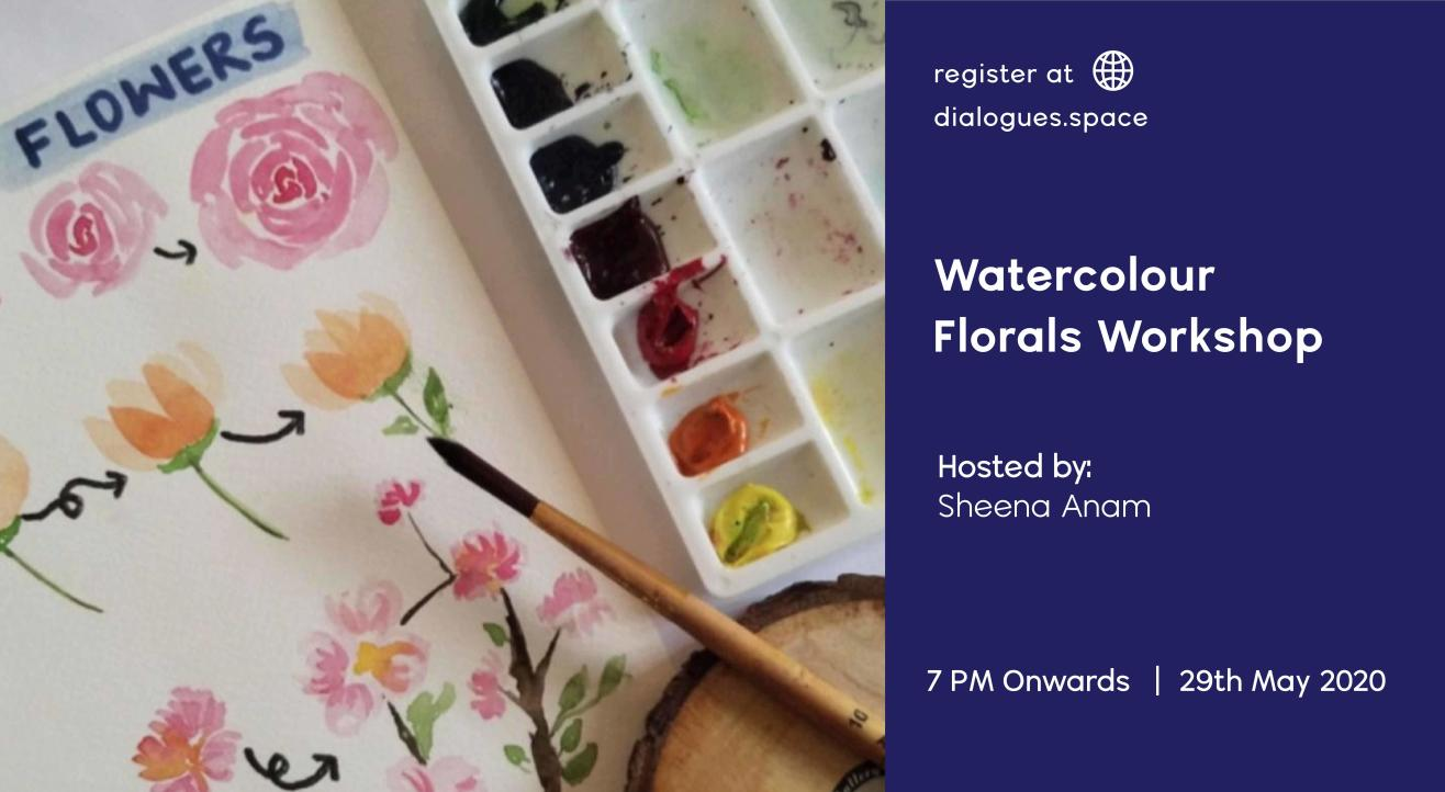 Watercolour florals Workshop