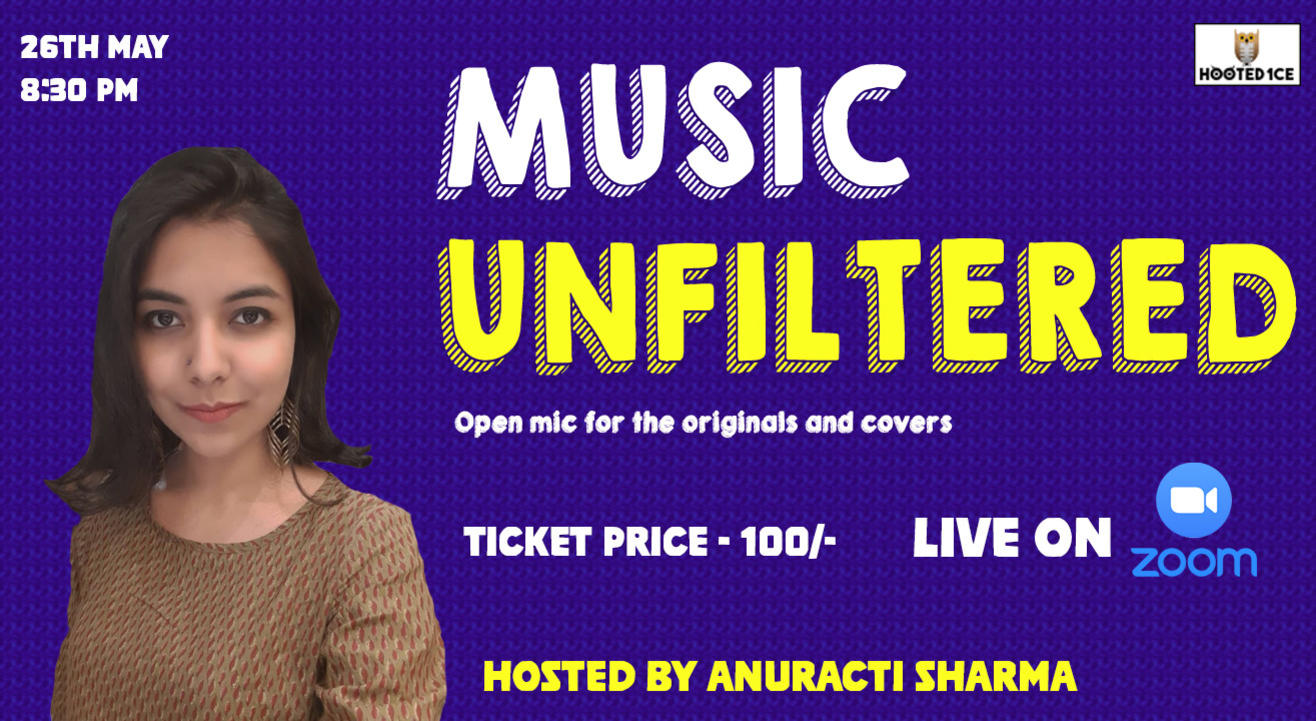 Music Unfiltered Open Mic for Originals and Covers.