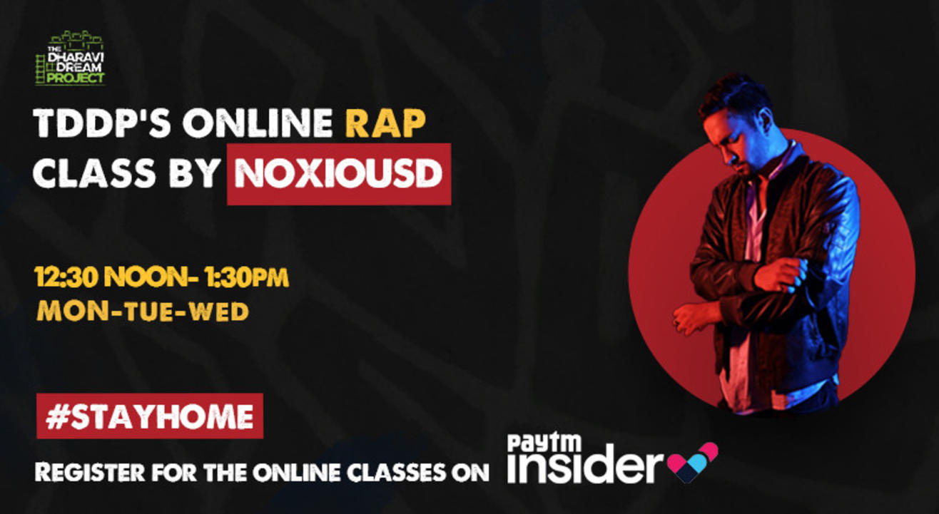 #AfterSchoolofHipHop's online Rap workshop with  Noxious D!