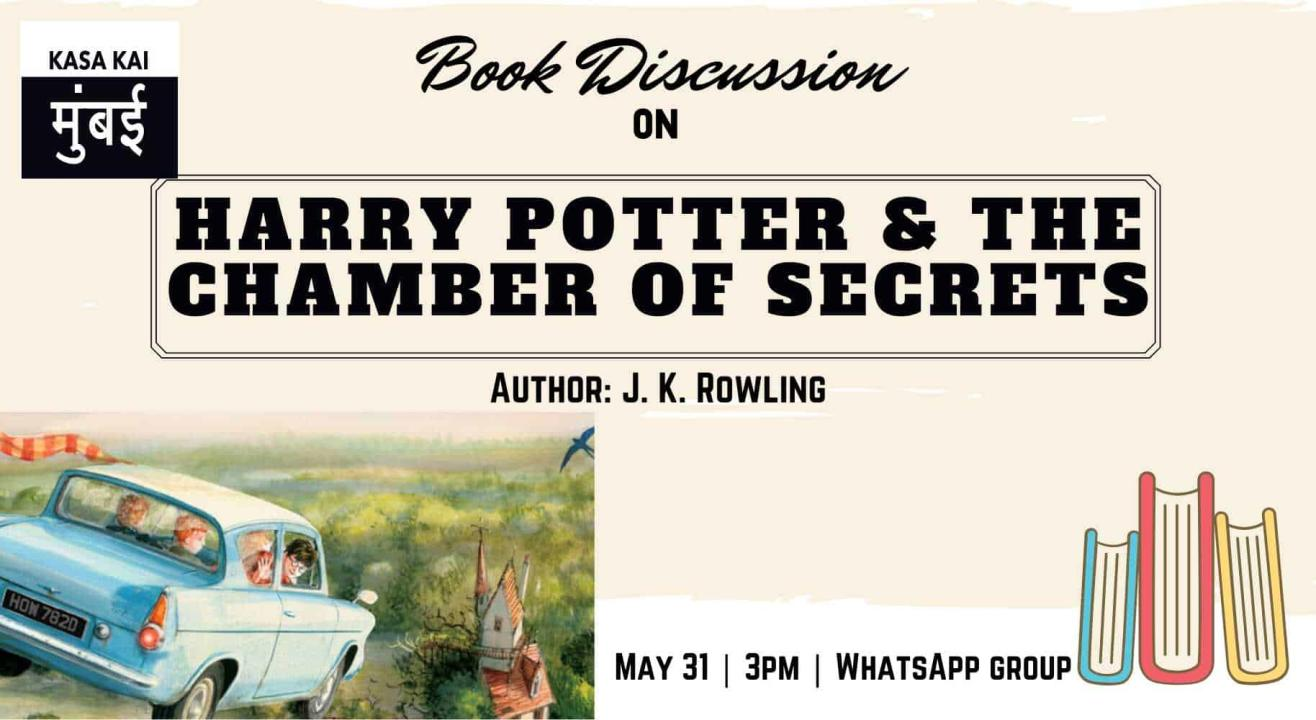 Book Discussion On Harry Potter And The Chamber Of Secrets At Online Whatsapp Group