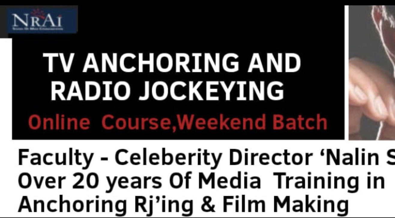TV Anchoring and Radio Jockeying Workshop