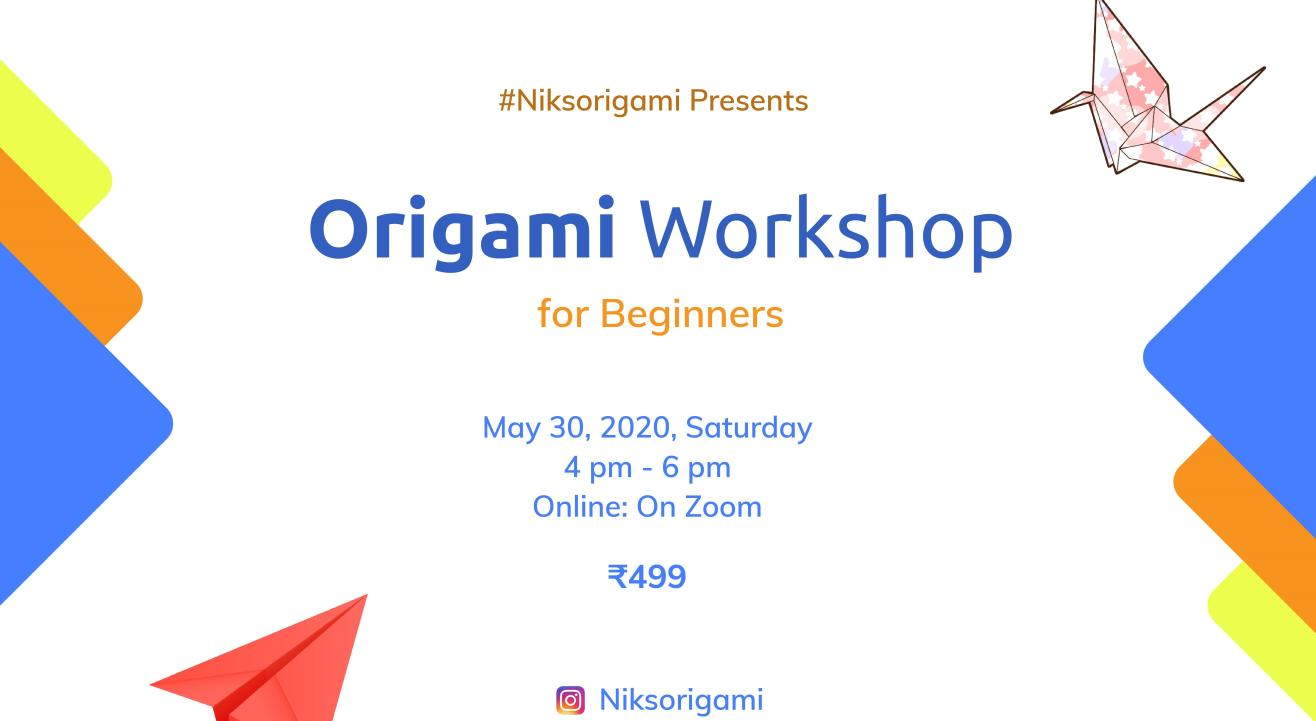Origami Workshop for Beginners