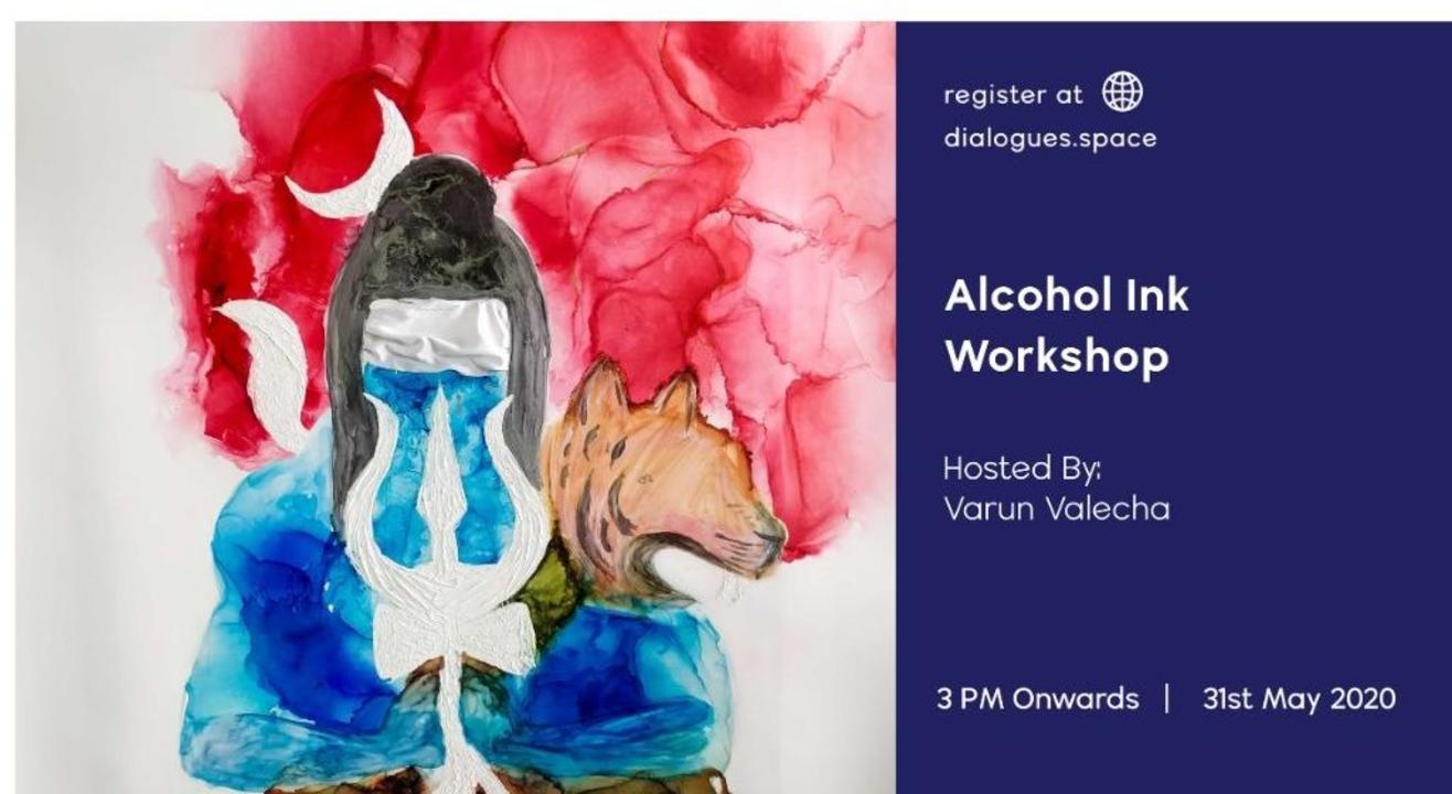 Alcohol Inks Workshop