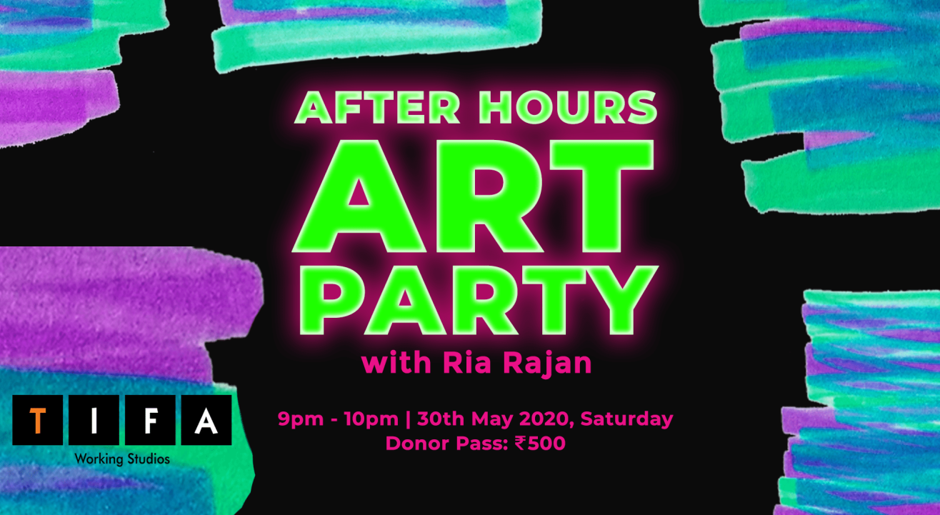 After Hours Art Party with Ria Rajan