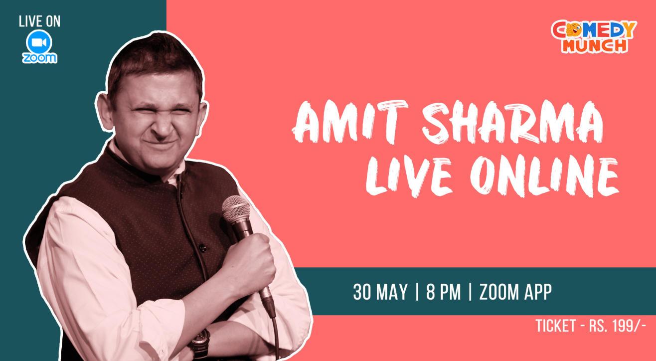 Comedy Munch : Amit Sharma live Online