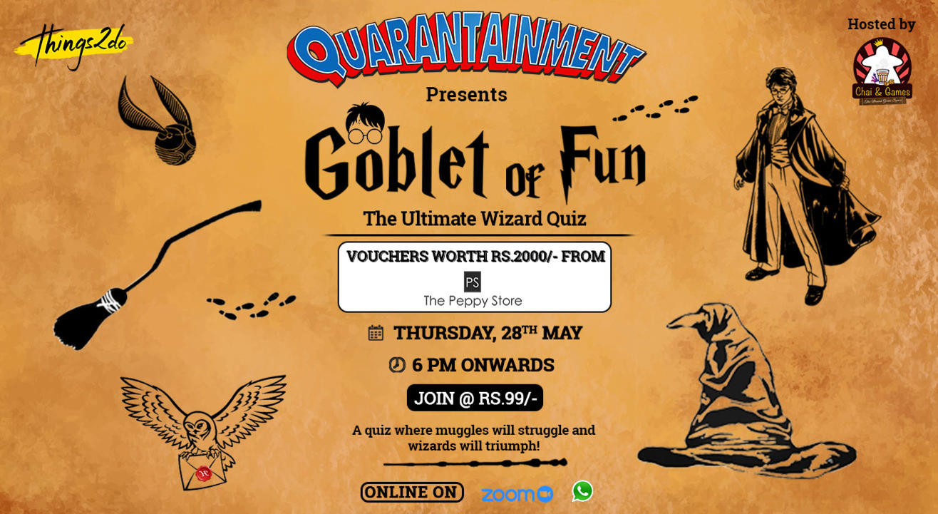 GOBLET OF FUN! The Ultimate Wizard Quiz