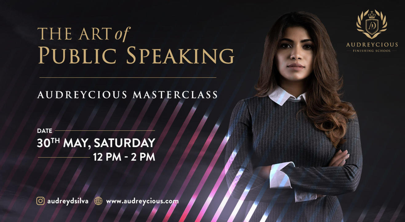 The Art of Public Speaking | Audreycious MasterClass