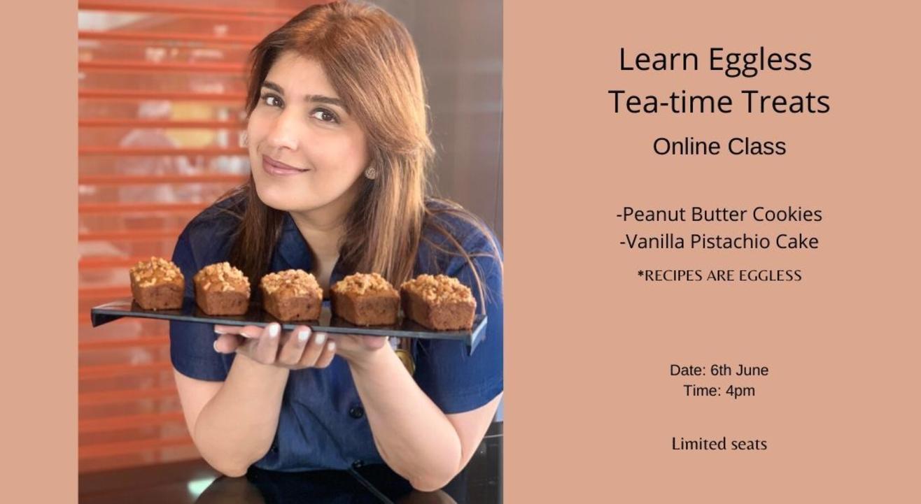 Eggless Tea Time Treats with Rakhee Vaswani