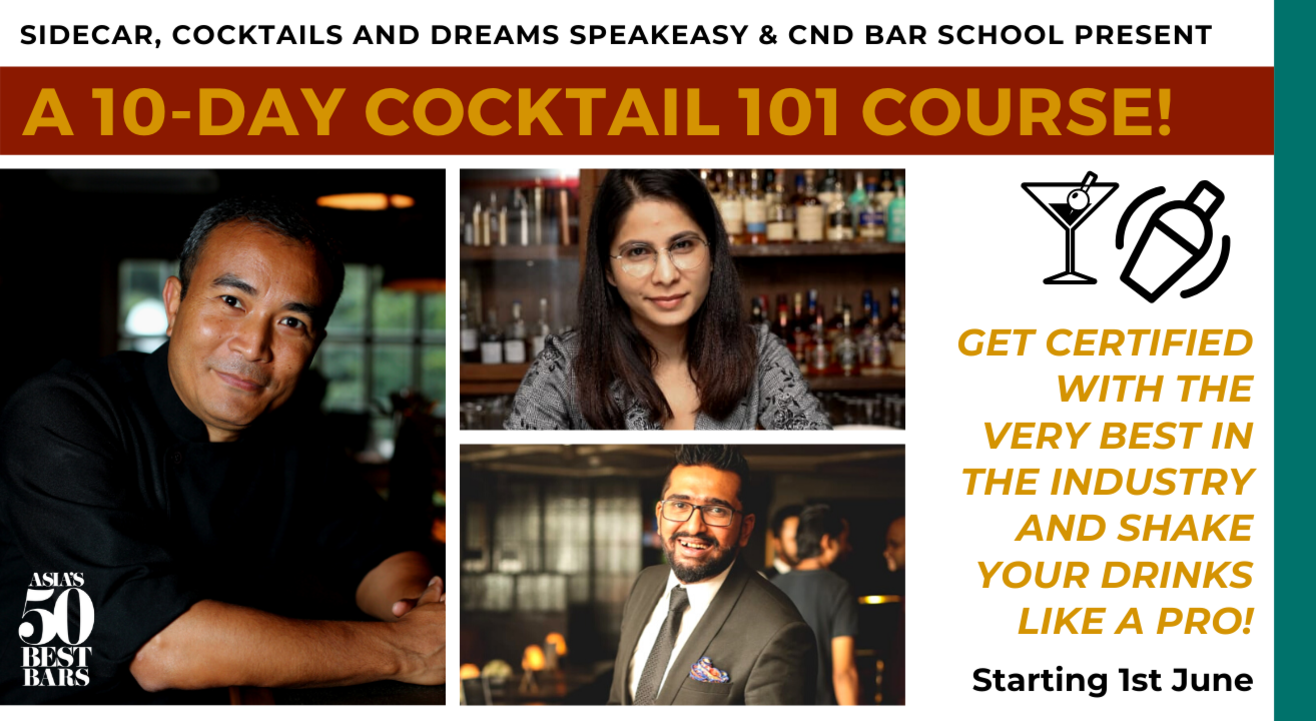 10-Day Cocktail 101 Course