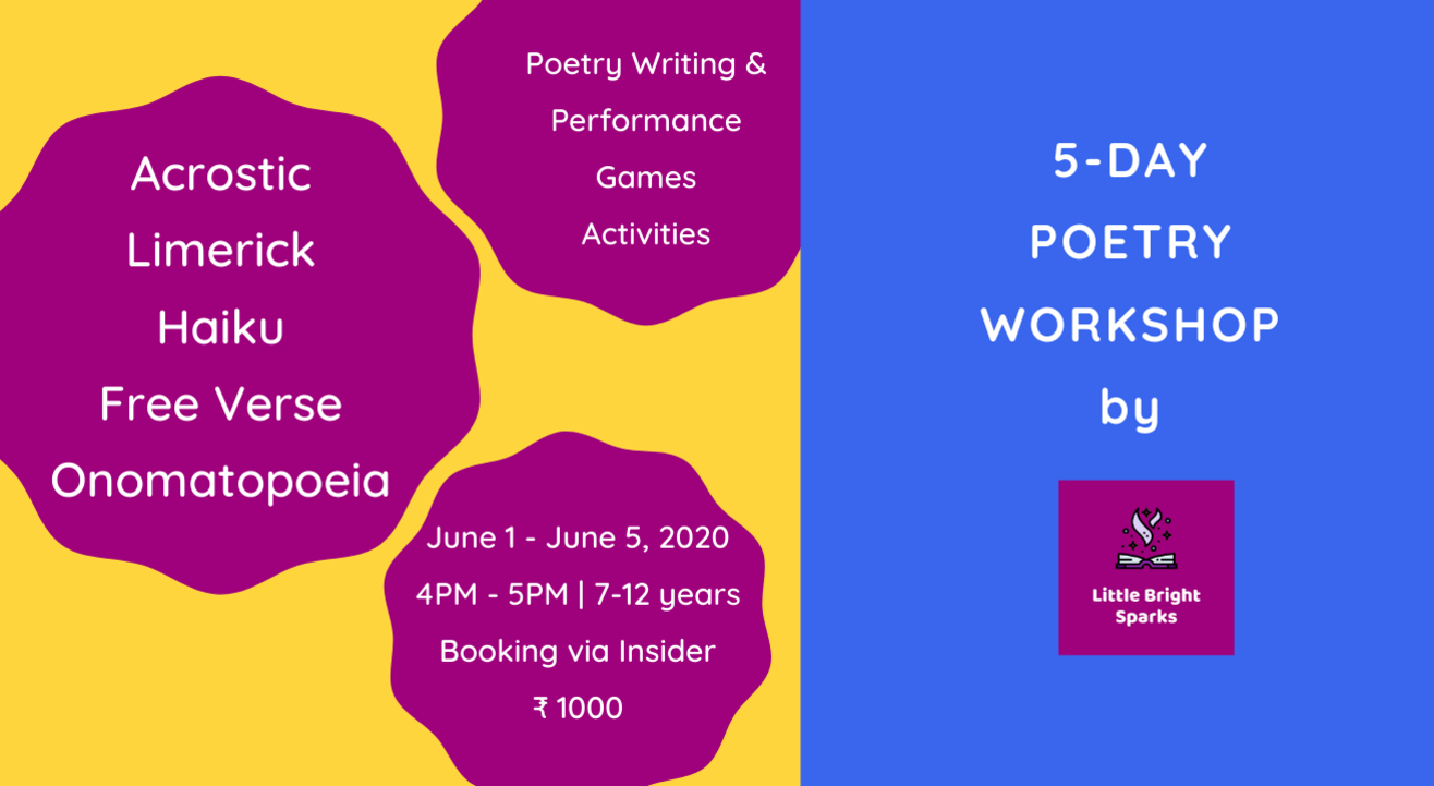 5-Day Poetry Workshop | Little Bright Sparks
