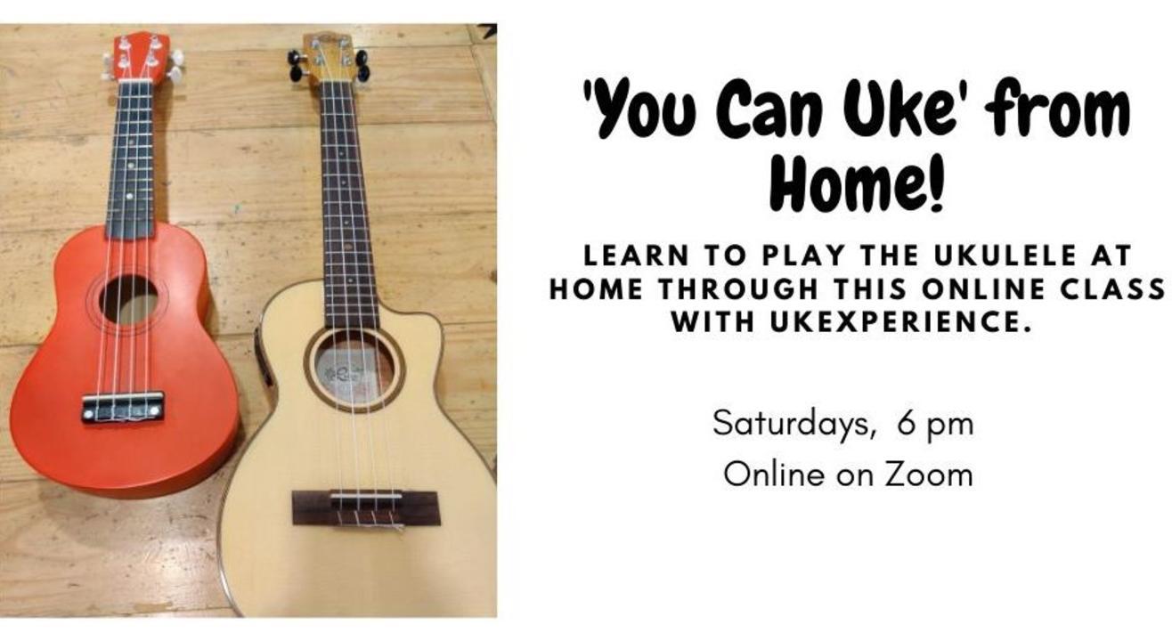 'You Can Uke!' - An Online Ukulele Workshop