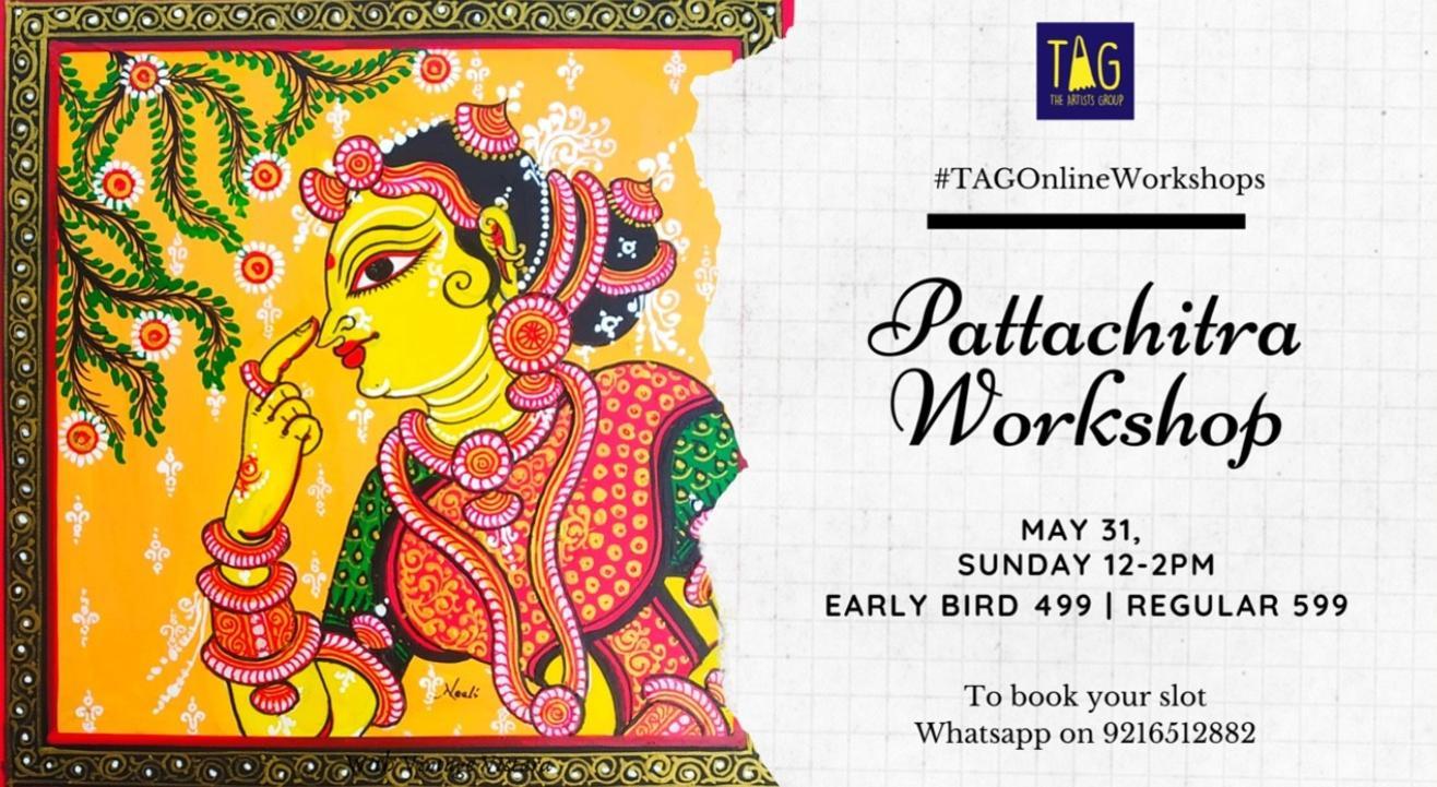 Pattachitra Workshop with Vintage Vistara