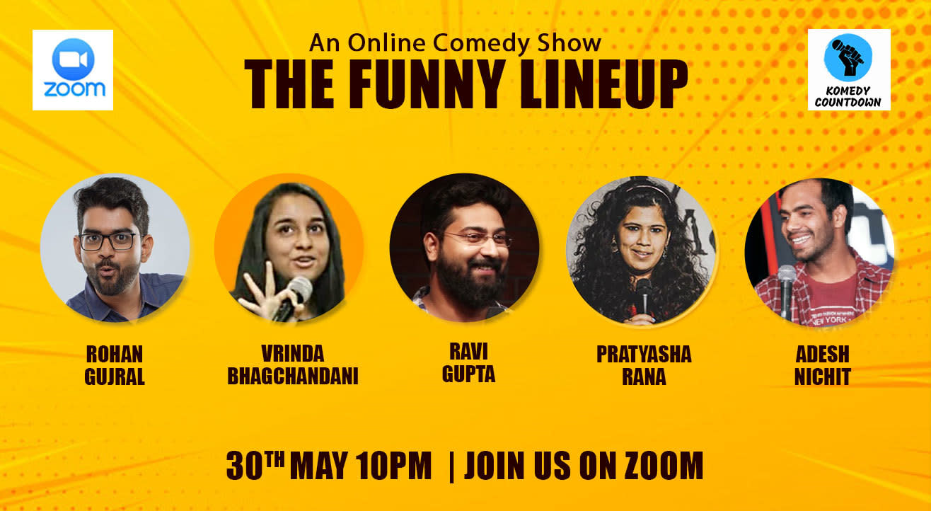 The Funny Lineup  - An Online Comedy Show