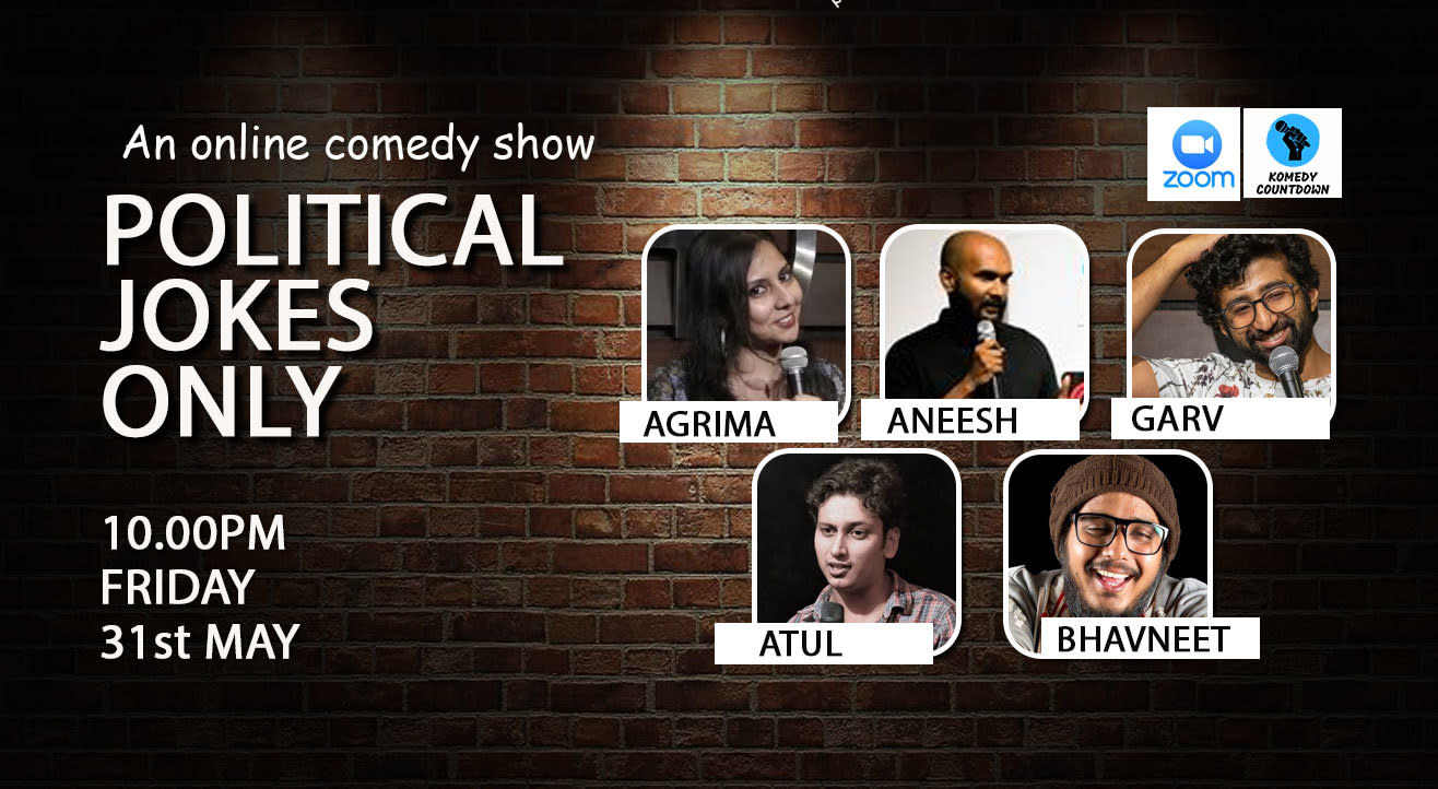 Political Jokes Only - A stand up comedy show