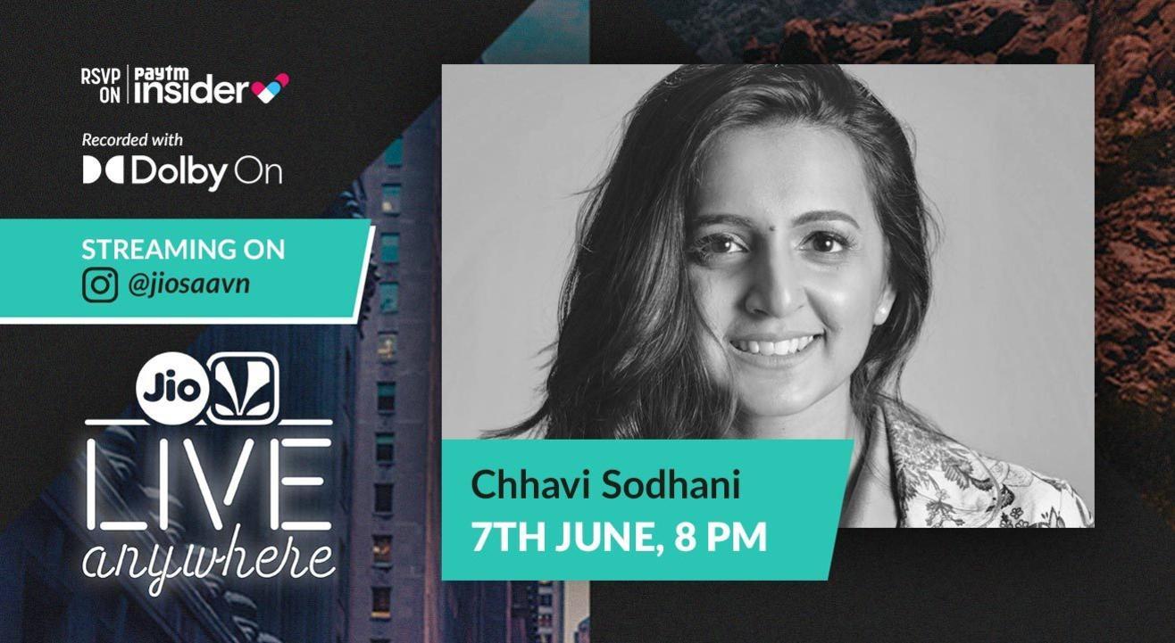 JioSaavn - Live Anywhere: Chhavi Sodhani