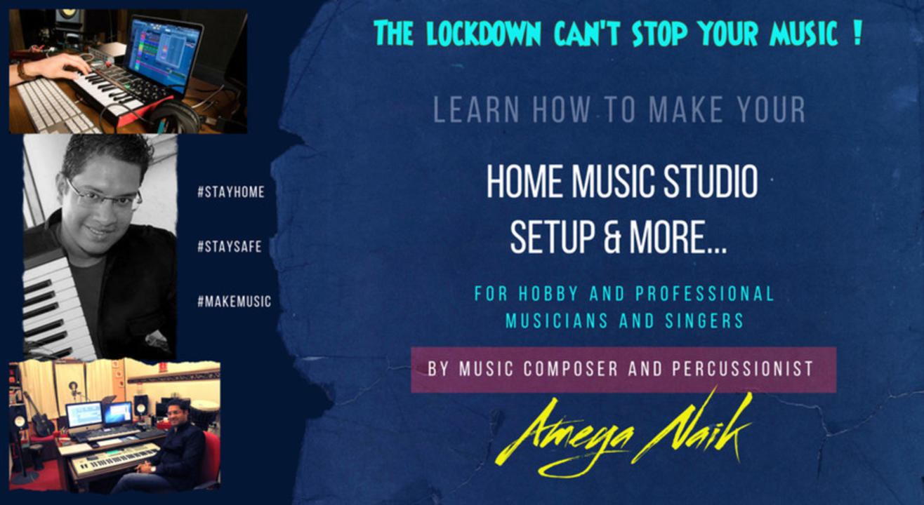 How to make your own professional Music & Voice Recording studio at home