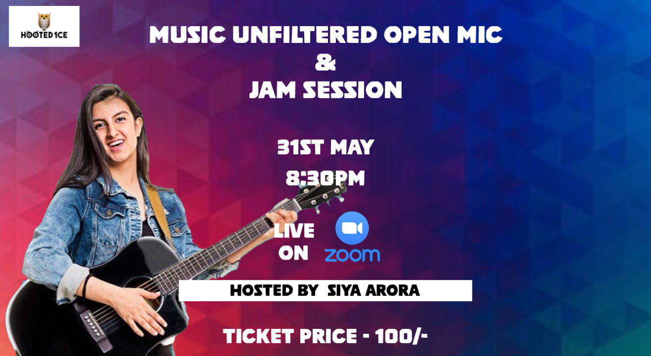 Music Unfiltered Open Mic & Jam Session